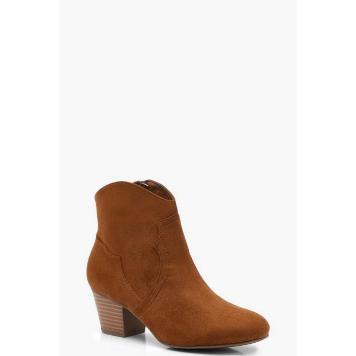 【海外限定】boohoo ブーフー 【 western ankle boots 】