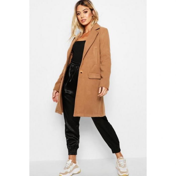 【海外限定】boohoo petite ブーフー ブーフープチ 【 boyfriend coat 】