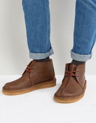 クラークス クラークスオリジナルズ CLARKS ORIGINALS 靴 メンズ ブラウン ブーツ 茶 男性用 デザート オリジナルス トレック 【 DESERT TREK BOOTS BROWN 】