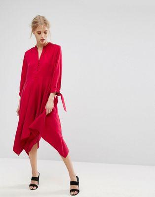 ドレス ワンピース チリ ペッパー MAX&CO レディース 女性用 レディースファッション 【 DECANO DRESS CHILLI PEPPER 】