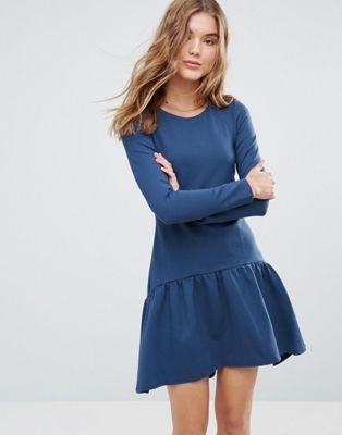 クローゼット ドレス ロング ワンピース スリーブ closet long sleeve pephem dress レディースファッション