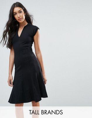 y.a.s tall トール cisley v neck ネック a line ライン dress ドレス ワンピース レディースファッション