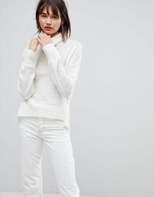 ブレンド blend ウール ハイ ジャンパー ネック リラックス h.one relaxed high neck wool jumper セーター レディースファッション トップス ニット