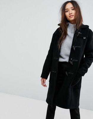 ブレンド blend gloverall long ロング slim スリム wool ウール duffle ダッフルバッグ coat コート レディースファッション アウター ジャケット