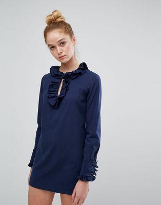 sonia ソニア by rykiel リキエル ruffle ラッフル minidress ミニドレス ワンピース レディースファッション