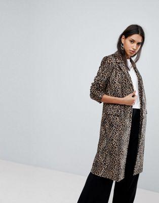 レオパード コート プリント エレーヌ バーマン カレッジ helene berman leopard print college coat ジャケット アウター レディースファッション