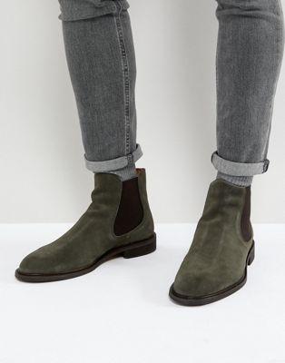 スウェード チェルシー ブーツ オム スエード selected homme suede chelsea boots メンズ靴 靴