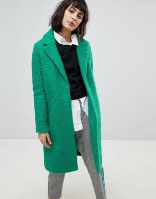 アイランド コート カー テクスチャ リバー river island textured car coat ジャケット アウター レディースファッション