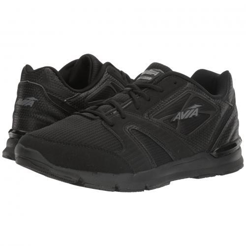 GRAY灰色 グレイ メンズ 男性用 メンズ靴 靴 スニーカー 【 GREY AVIA AVIEDGE BLACK IRON 】