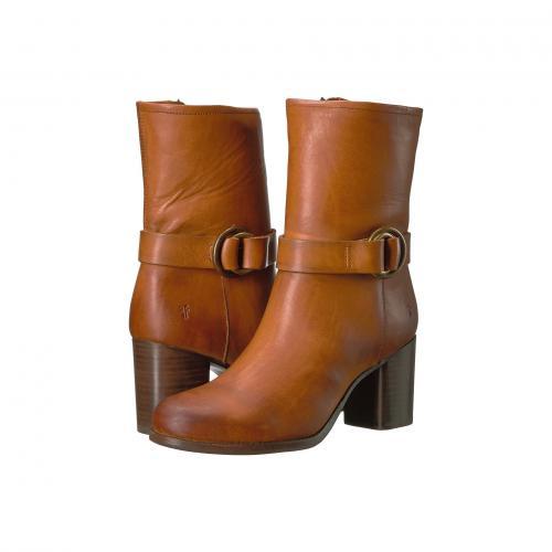 フライ ハーネス ミッド 黒 ブラック レディース 女性用 レディース靴 靴 ブーツ 【 BLACK FRYE ADDIE HARNESS MID 】