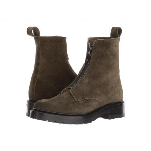 フライ ジュリー フロント ジップ フォレスト ソフト スエード スウェード レディース 女性用 靴 レディース靴 ブーツ 【 FRYE JULIE FRONT ZIP FOREST SOFT OILED SUEDE 】