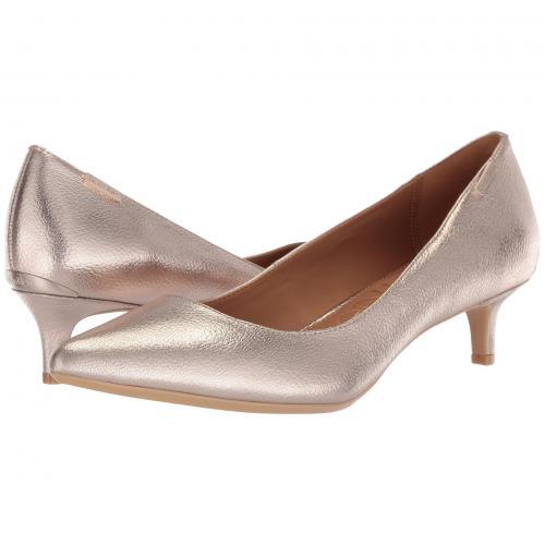 カルバン クライン ポンプ ソフト プラチナム レディース 女性用 靴 パンプス レディース靴 【 PUMP PLATINUM CALVIN KLEIN GABRIANNA SOFT 】