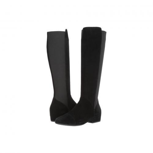 黒 ブラック エラスティック レディース 女性用 ブーツ 靴 レディース靴 【 BLACK VANELI GOEL SUEDE ELASTIC 】