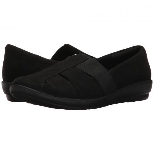 イージー スピリット 黒 ブラック ファブリック レディース 女性用 カジュアルシューズ レディース靴 靴 【 BLACK EASY SPIRIT ALANI 2 FABRIC 】