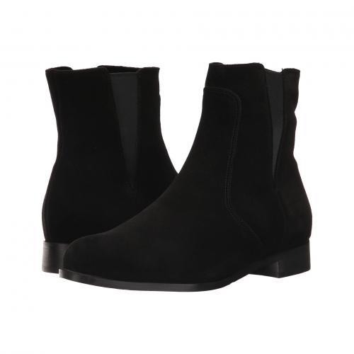 スカウト 黒 ブラック スエード スウェード レディース 女性用 ブーツ レディース靴 靴 【 BLACK LA CANADIENNE SCOUT SUEDE 】