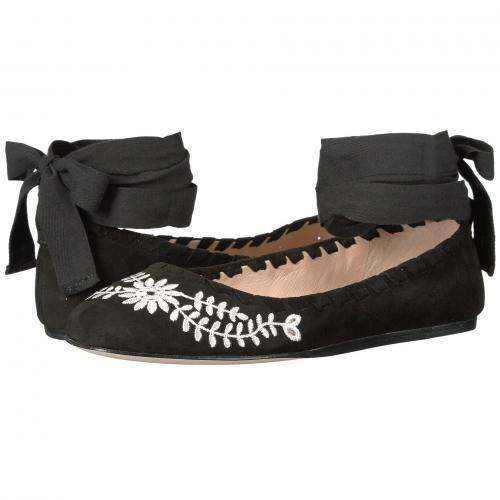 ビア 黒 ブラック スエード スウェード レディース 女性用 靴 レディース靴 カジュアルシューズ 【 BLACK VIA SPIGA BAYLIE2 SUEDE 】