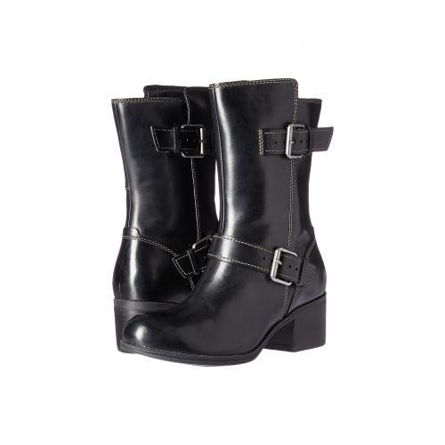 クラークス オアシス 黒 ブラック レディース 女性用 靴 ブーツ レディース靴 【 BLACK CLARKS MAYPEARL OASIS 】