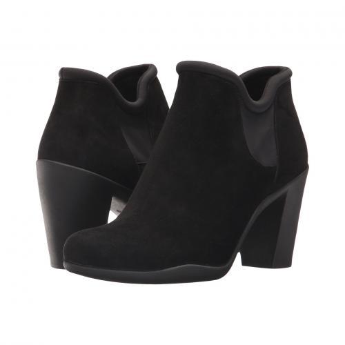 クラークス ベラ 黒 ブラック スエード スウェード レディース 女性用 靴 ブーツ レディース靴 【 BLACK CLARKS ADYA BELLA SUEDE 】