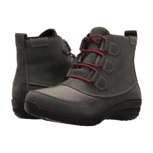 ダック ブーツ レディース 女性用 靴 レディース靴 【 AETREX BERRIES DUCK BOOT GREYBERRY 】