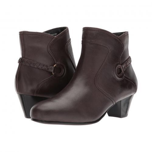 ダビデ テイト チカ 茶 ブラウン レディース 女性用 レディース靴 ブーツ 靴 【 DAVID TATE CHICA BROWN 】