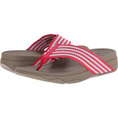 レディース 女性用 レディース靴 サンダル 靴 【 FITFLOP SURFA RASPBERRY CLEARWATER 】