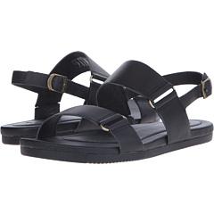 テバ サンダル レザー 黒 ブラック レディース 女性用 ミュール 靴 レディース靴 【 TEVA BLACK AVALINA SANDAL LEATHER 】