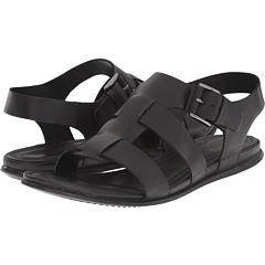エコー タッチ バックル サンダル 黒 ブラック レディース 女性用 靴 レディース靴 ミュール 【 BLACK ECCO TOUCH BUCKLE SANDAL 】
