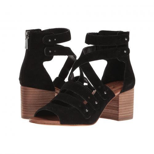 ジェシカ シンプソン 黒 ブラック スプリット スエード スウェード レディース 女性用 レディース靴 靴 サンダル 【 BLACK JESSICA SIMPSON HALACIE SPLIT SUEDE 】