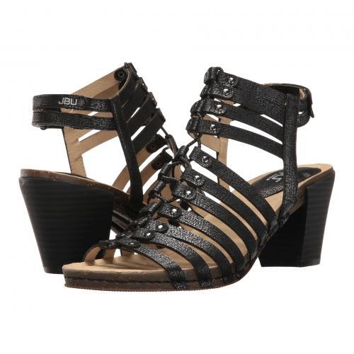 シュガー アンコール 黒 ブラック レディース 女性用 レディース靴 ミュール 靴 【 BLACK JBU SUGAR ENCORE 】