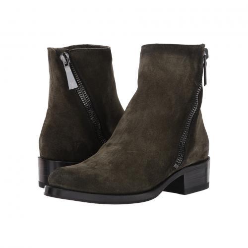 フライ デミ ジップ フォレスト ソフト スエード スウェード レディース 女性用 靴 ブーティ レディース靴 【 FRYE DEMI ZIP BOOTIE FOREST SOFT OILED SUEDE 】