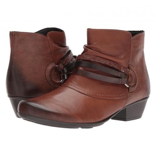 レディース 女性用 ブーツ レディース靴 靴 【 RIEKER D7365 MILLA 65 CHESTNUT ANTIK 】