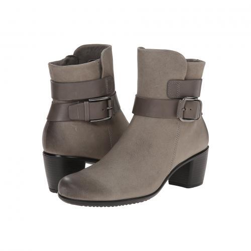 エコー タッチ ミッド カット ムーン GRAY灰色 グレイ レディース 女性用 ブーティ 靴 レディース靴 【 GREY ECCO TOUCH 55 MID CUT BOOTIE MOON ROCK WARM 】