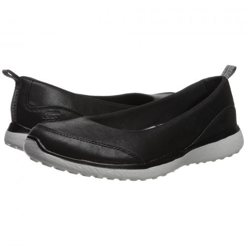 スケッチャーズ レディース 女性用 靴 レディース靴 カジュアルシューズ 【 SKECHERS MICROBURST LIGHTNESS BLACK GREY 】