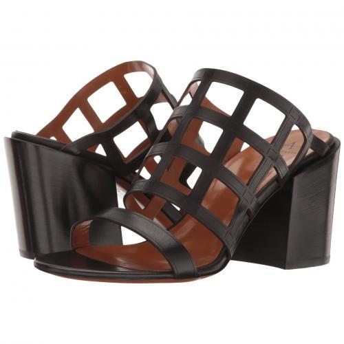 黒 ブラック カーフ レディース 女性用 レディース靴 靴 ミュール 【 BLACK AQUATALIA FREDERICA CALF 】