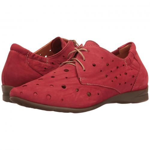 THINK! レディース 女性用 レディース靴 カジュアルシューズ 靴 【 WUNDA 80057 ROSSO KOMBI 】