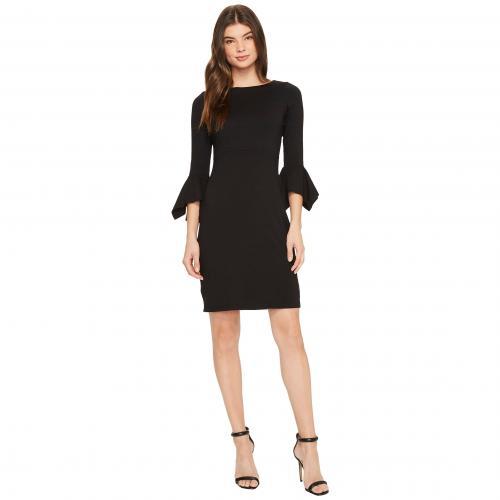 モナコ ドレス ワンピース 黒 ブラック レディース 女性用 レディースファッション 【 BLACK SUSANA MONACO RILEY DRESS 】