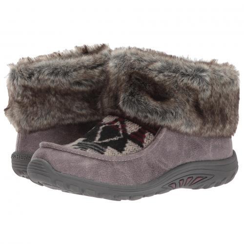 スケッチャーズ フェスト 灰色 グレー グレイ レディース 女性用 靴 レディース靴 ブーツ 【 GRAY SKECHERS REGGAE FEST HAVASUPIA 】