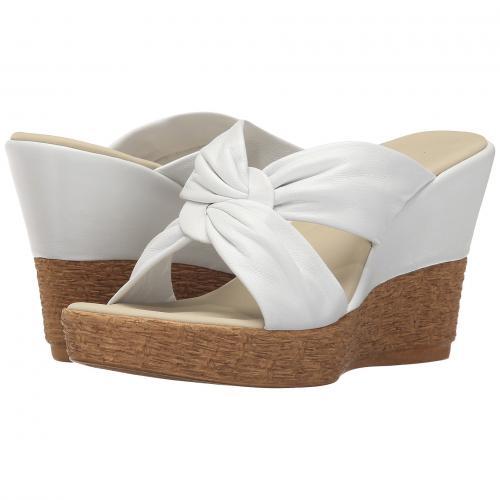白 ホワイト レディース 女性用 ミュール 靴 レディース靴 【 ONEX PRETTI WHITE 】