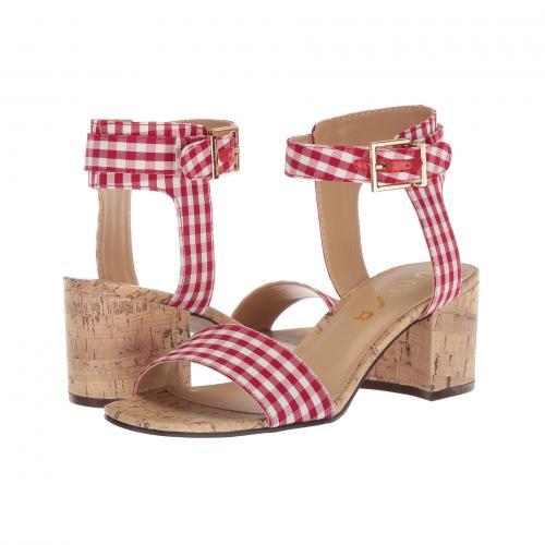 レディース 女性用 ミュール レディース靴 靴 【 UNISA ENOLA 3 RED WHITE 】