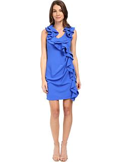 エヴァ セシル ドレス ワンピース コバルト レディース 女性用 レディースファッション 【 EVA BY FRANCO CECILE DRESS COBALT 】