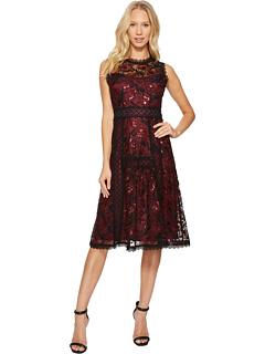 ルビー ドレス ワンピース レディース 女性用 レディースファッション 【 NANETTE LEPORE RUBY DRESS BLACK SCARLET 】