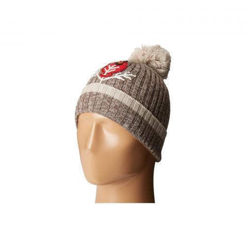 チャーリー ハーパー 赤 カーディナル キャップ 帽子 メンズ 男性用 小物 メンズ帽子 バッグ ブランド雑貨 【 SMARTWOOL CHARLEY HARPER CARDINAL POM BEANIE TAUPE 】