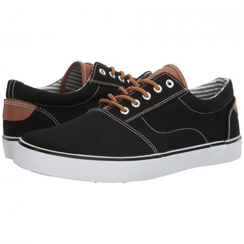 オーク 黒 ブラック メンズ 男性用 スニーカー メンズ靴 靴 【 BLACK UNIONBAY OAK HARBOR 】