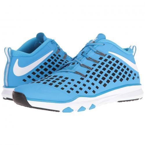 ナイキ トレイン クイック 青 ブルー メンズ 男性用 靴 スニーカー メンズ靴 【 NIKE QUICK BLUE TRAIN GLOW WHITE BLACK VOLT 】