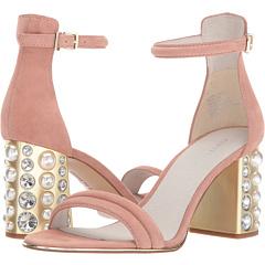 コール ニュー ニューヨーク パール ブラッシュ スエード スウェード レディース 女性用 ミュール 靴 レディース靴 【 KENNETH COLE NEW YORK LUISA PEARL BLUSH SUEDE 】