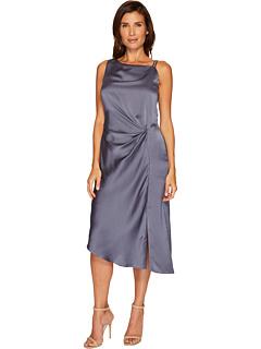 サイド ドレス ワンピース NIC+ZOE レディース 女性用 レディースファッション 【 SIDE RUCHED DRESS TYPHOON 】