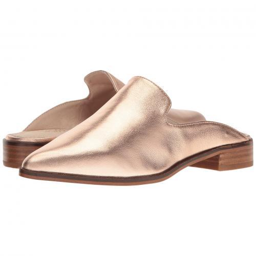 ロンドン ローズ ゴールド 金 レザー レディース 女性用 ミュール 靴 レディース靴 【 ROSE SHELLYS LONDON CANTARA MULE GOLD LEATHER 】