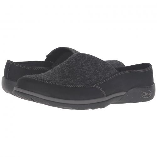 クイン 黒 ブラック レディース 女性用 靴 ミュール レディース靴 【 BLACK CHACO QUINN 】