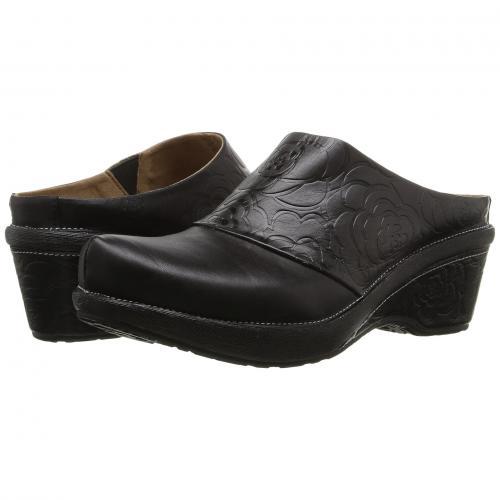 スプリング ステップ 黒 ブラック レディース 女性用 レディース靴 靴 ミュール 【 SPRING BLACK STEP BANDE 】