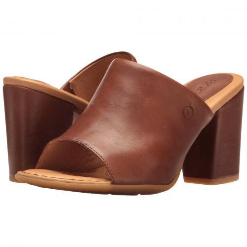 ボーン 茶 ブラウン フル グレイン レディース 女性用 サンダル 靴 レディース靴 【 BORN BIMA BROWN FULL GRAIN 】